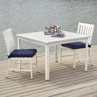 Melvin 5-Piece Dining Set with Cushions By Longshore Tides