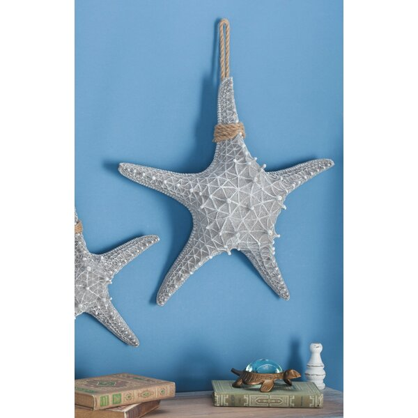 Polystone Rope Starfish Sculpture by Cole & Grey