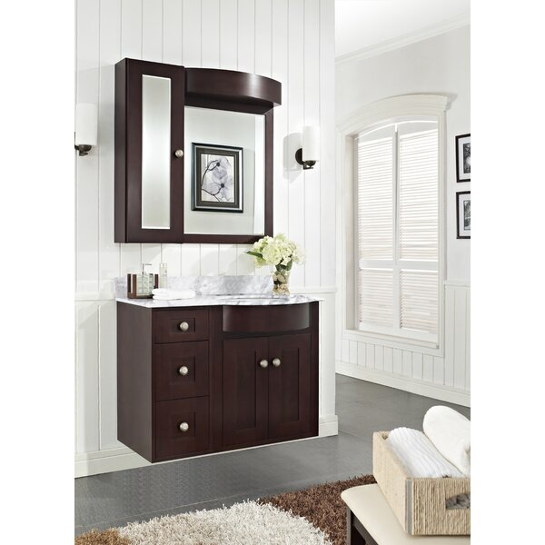 Kester 36 Multi-layer Stain Bathroom Vanity by Darby Home Co