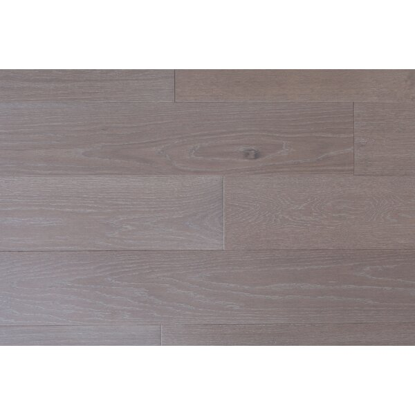 Alpine Trail 7 Inch Engineered Oak Wide Plank Flooring in Glacier Gray by Eddie Bauer Floors
