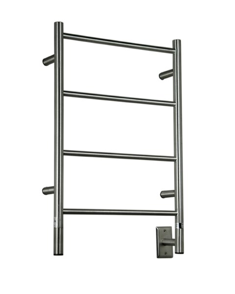 Jeeves Wall Mont Electric I Straight Towel Warmer by Amba