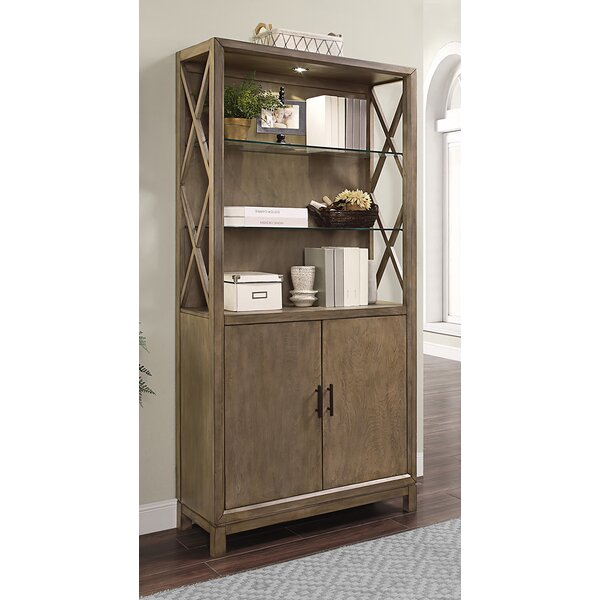 Dafne Library Bookcase By Gracie Oaks