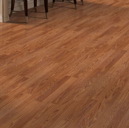 Genova 6 x 54 x 8mm Oak Laminate Flooring in Sierra Red Oak by Mohawk Flooring