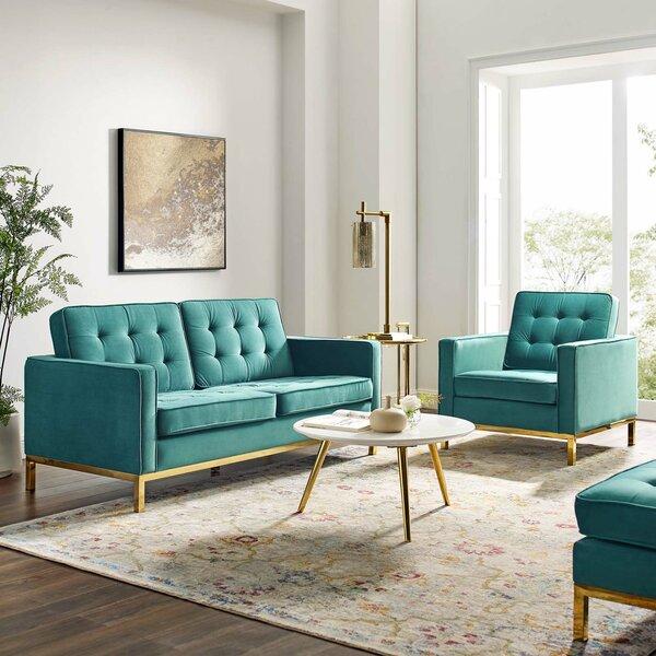 Gayatri Tufted 2 Piece Living Room Set By Orren Ellis