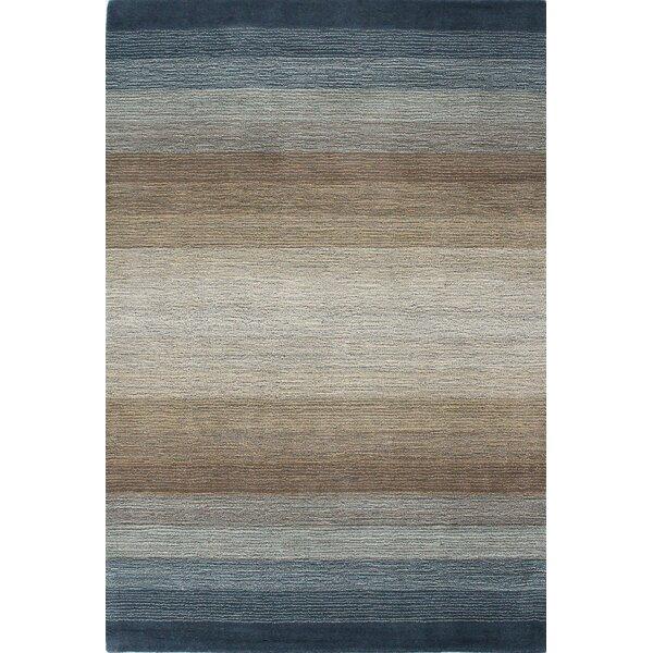 Hawkinson Hand-Woven Wool Area Rug by Ebern Designs