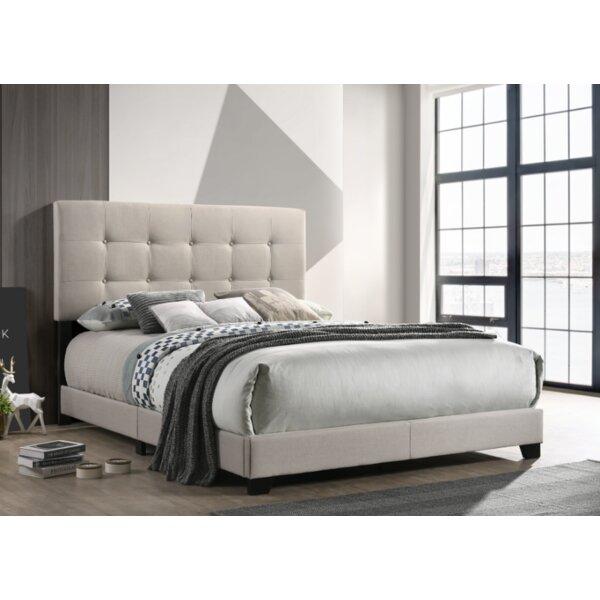 Manassa Queen Upholstered Standard Bed by Ebern Designs