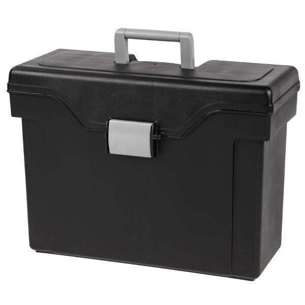 Letter Legal Portable File Box (Set of 4) by IRIS USA, Inc.