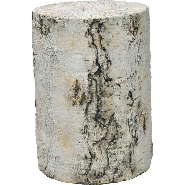 Grotto Stone/Concrete Side Table by JANUS et Cie