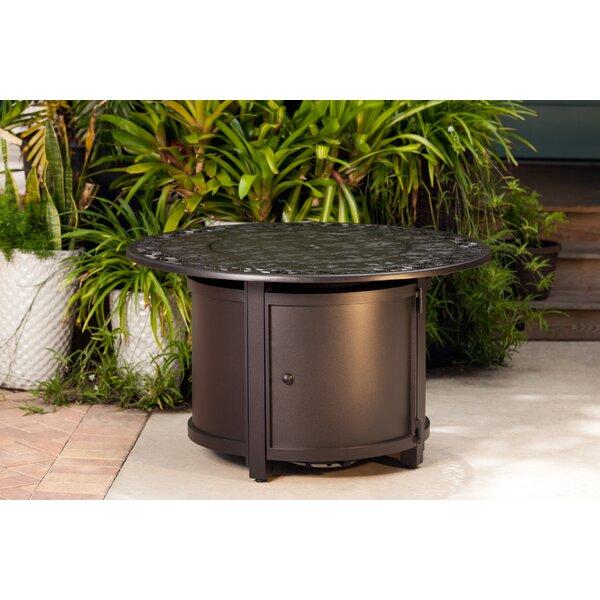 Longpoint Aluminum Propane Fire Pit Table by Fire Sense