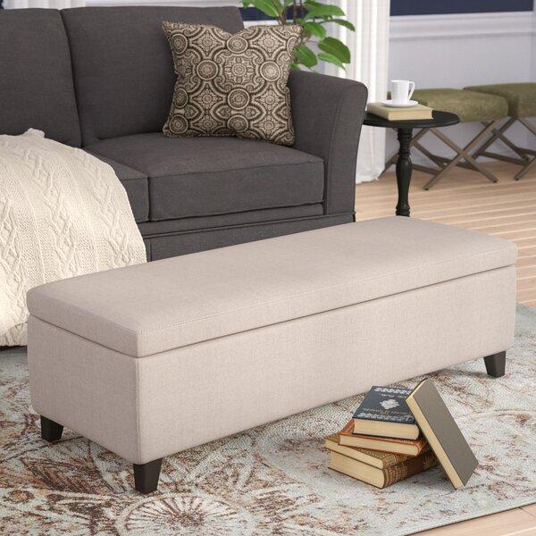 Overbey Storage Ottoman by Andover Mills