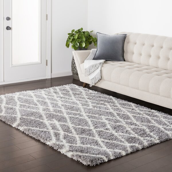 Zachariah Gray Area Rug by Williston Forge