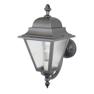 Read Reviews Lemasters 1-Light Wall Lantern By Charlton Home