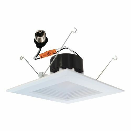 Square Insert Baffle 6 LED Recessed Trim by Elco Lighting