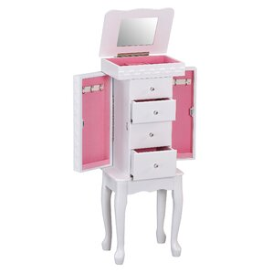 Didi Jewelry Armoire with Mirror by AC..
