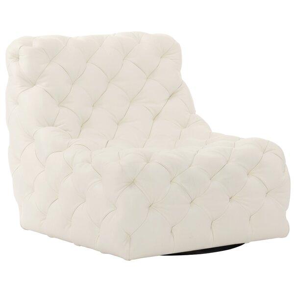 Rigby Swivel Slipper Chair By Bernhardt