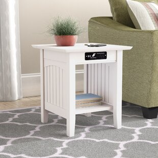 Orangetown End Table Three Posts