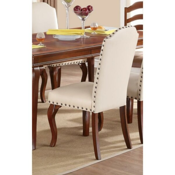 Rowlett Upholstered Dining Chair (Set of 2) by Charlton Home