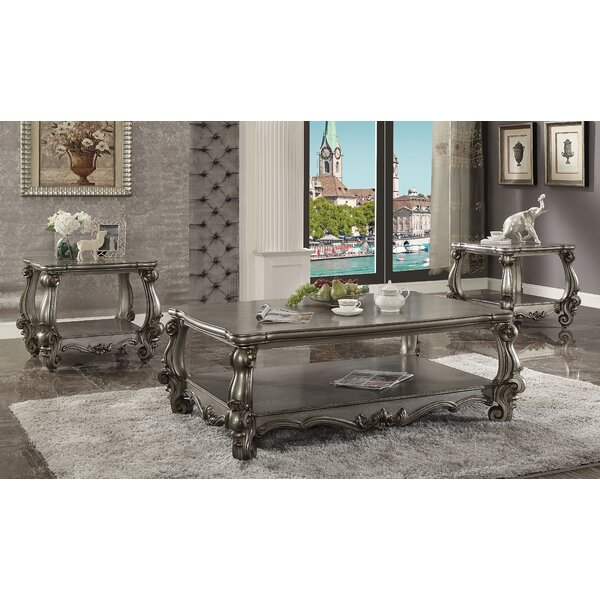Welton 3 Piece Coffee Table Set by Astoria Grand Astoria Grand