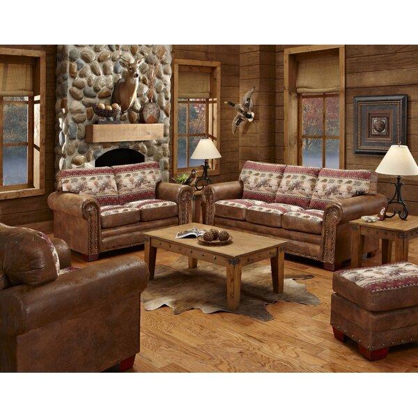 Deer Sleeper Valley 4 Piece Living Room Set by Millwood Pines