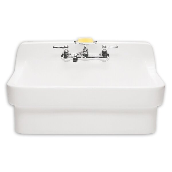 Ceramic 30 Wall Mount Bathroom Sink by American St