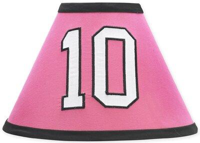 Soccer Pink 10 Latex Free Empire Lamp Shade by Sweet Jojo Designs