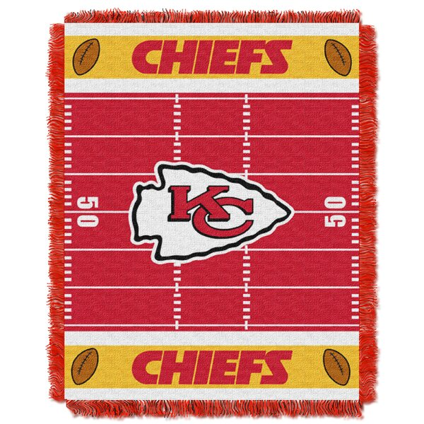 NFL Chiefs Field Baby Blanket by Northwest Co.