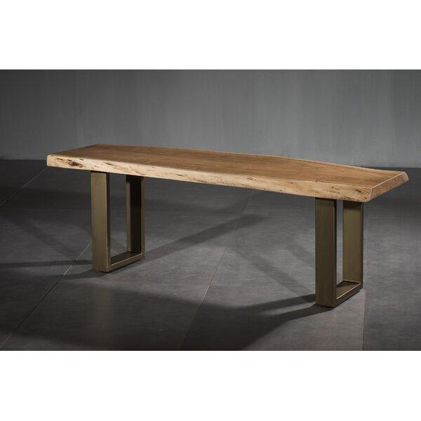 Setser Dining Wood Bench by Ivy Bronx