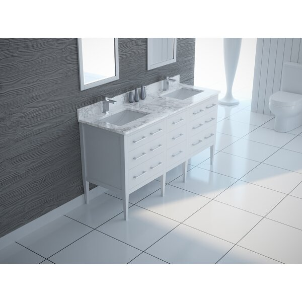 Eilis 61 Double Bathroom Vanity Set by Latitude Run
