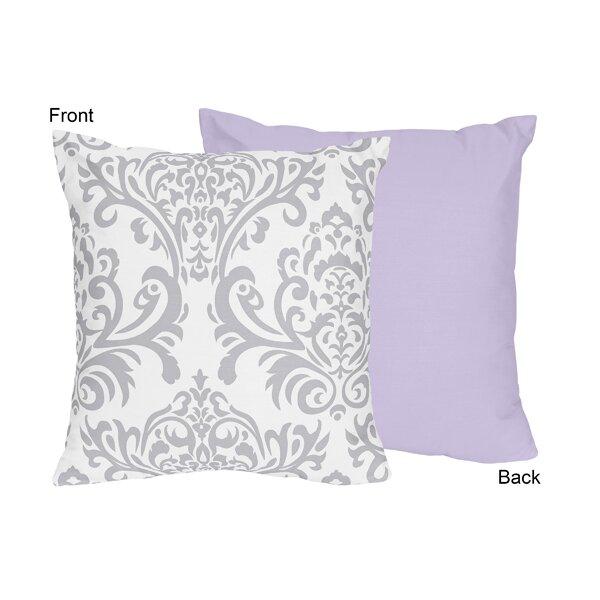 Elizabeth Cotton Throw Pillow by Sweet Jojo Designs