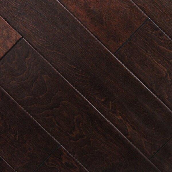 5 x 48 x 2.7mm Birch Laminate Flooring in Cherry Chocolate (Set of 22) by Serradon