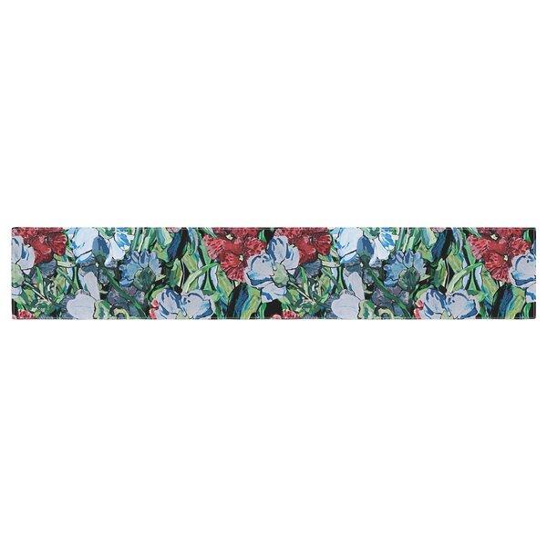 DLKG Design Giardino Garden Flowers Table Runner by East Urban Home