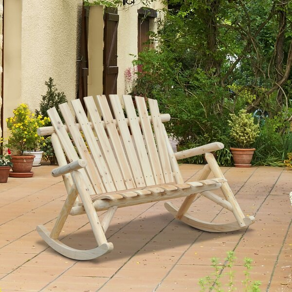 Mckeown Rocking Chair by Rosecliff Heights