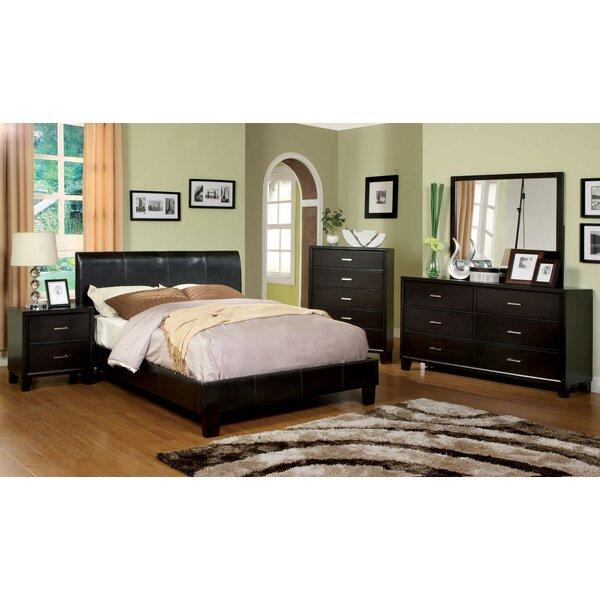 Hayfield Upholstered Platform Bed by Ebern Designs