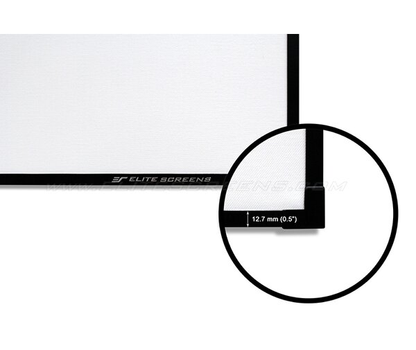 Aeon Series Fixed Frame Projection Screen by Elite Screens