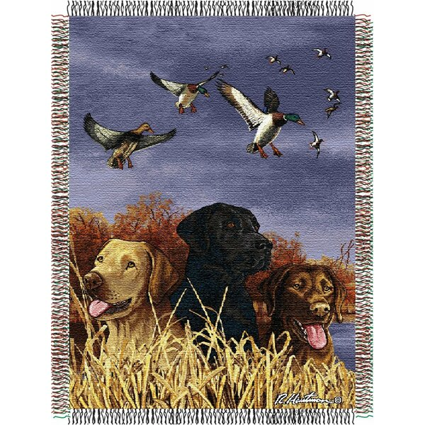 Entertainment Tapestry Hautman Brothers Bird Dog Throw Blanket by Northwest Co.