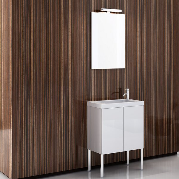 Happy Day 23.2 Footed Bathroom Vanity Set by Iotti by Nameeks