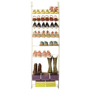 Affordable 12-Tier 36 Pair Shoe Rack By Max Space