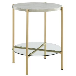 Small White Round Accent Table Wayfair