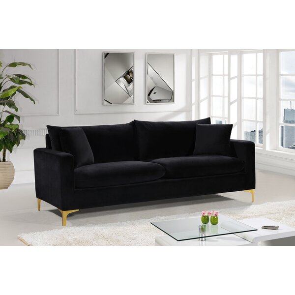 Modern Brand Boutwell Sofa by Mercer41 by Mercer41
