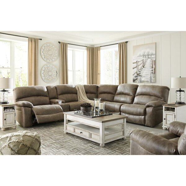 Pittard Symmetrical Reclining Sectional By Red Barrel Studio