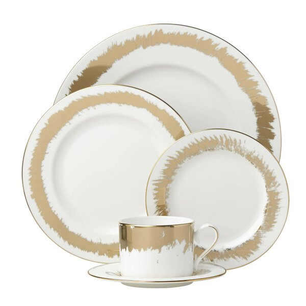 Casual Radiance Bone China 5 Piece Place Setting, Service for 1 by Lenox