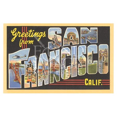 Greetings from California Textual Art Multi-Piece Image on Wood by Artehouse LLC