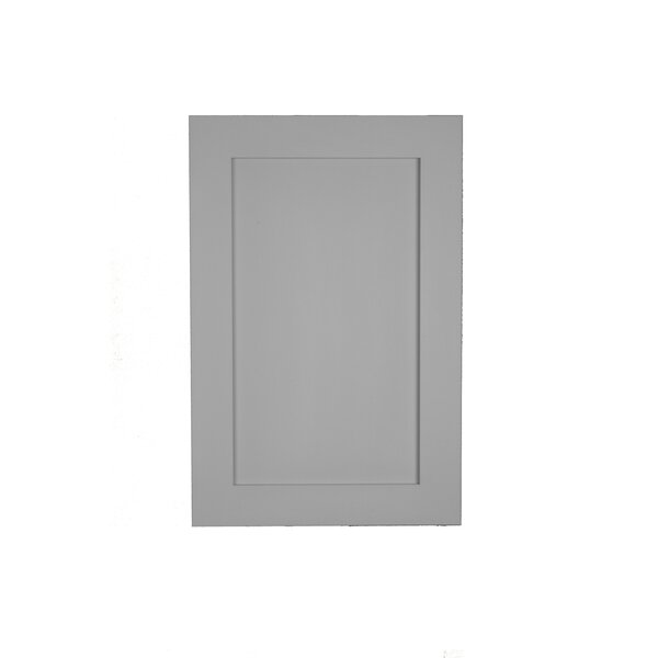 15.5 W x 35.5 H Recessed Cabinet by WG Wood Products