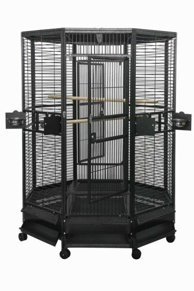 Large Octagon Bird Cage by A&E Cage Co.