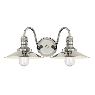 Order Waldschmidt 2-Light Vanity Light By Breakwater Bay