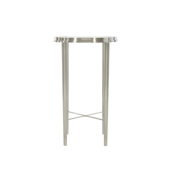 Allure Glass Top End Table By Bernhardt