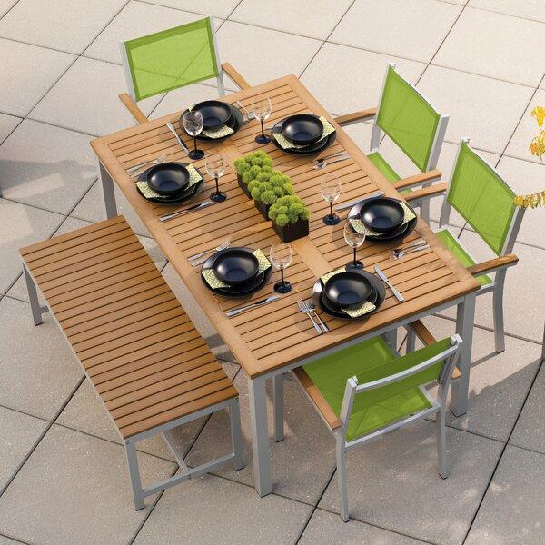 Farmington Contemporary 6 Piece Dining Set by Latitude Run