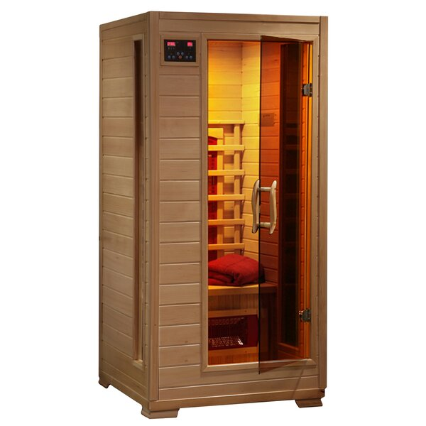 Luxury Series 1 Person FAR Infrared Sauna by Radiant Saunas