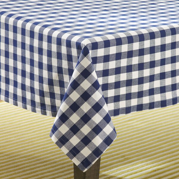 Checker Tablecloth by Design Imports