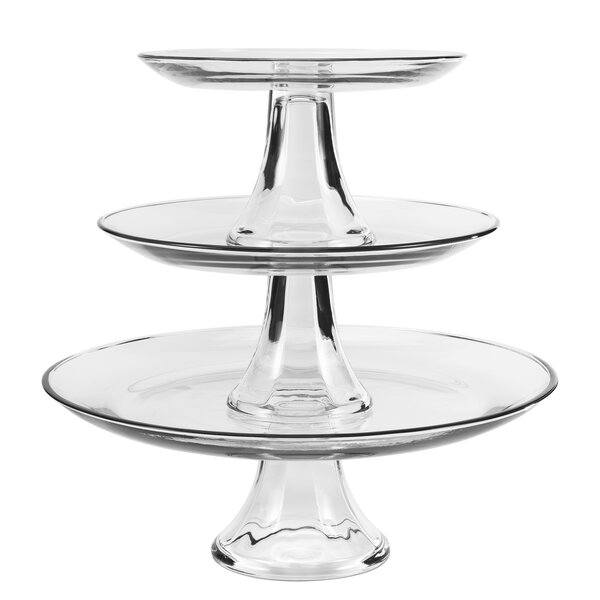 Presence 3 Tier Platter by Anchor Hocking